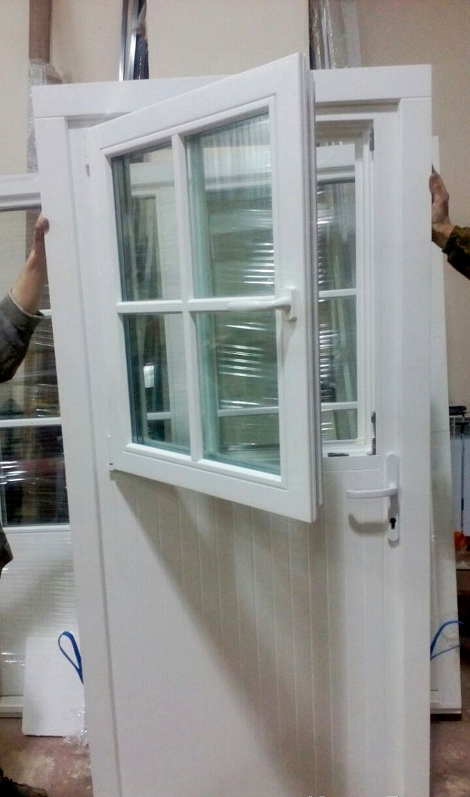пластиковая дверь со встроенным окном фото новосибирска, поражающие своим
