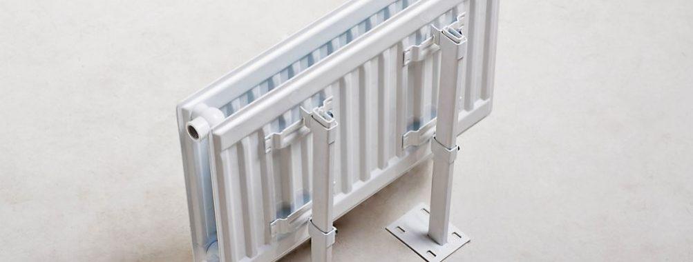 Примеры надежного крепления радиаторов