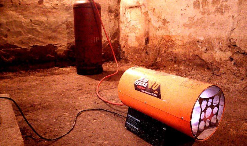 Отопление в гараже: за и против